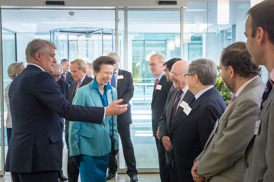 Opening The Maurice Wohl Clinical Neuroscience Institute London with HRH Princess Anne