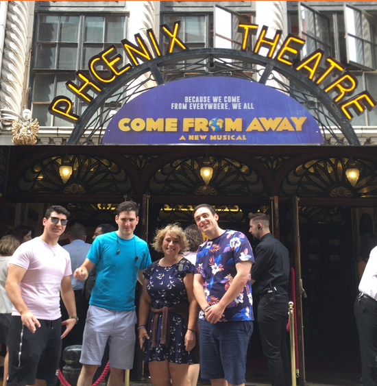 Gateway Theatre drama students