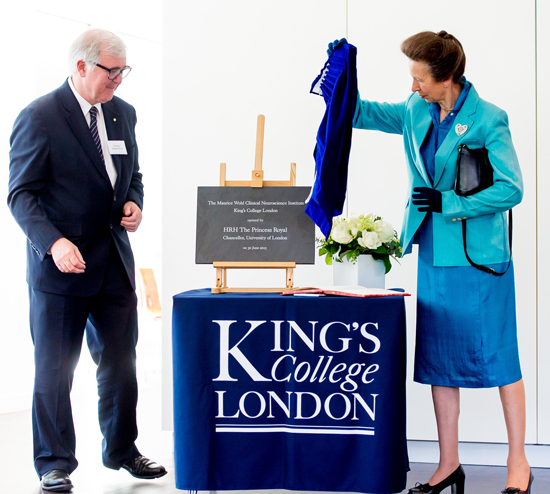 Kings College London HRH-princess-anne